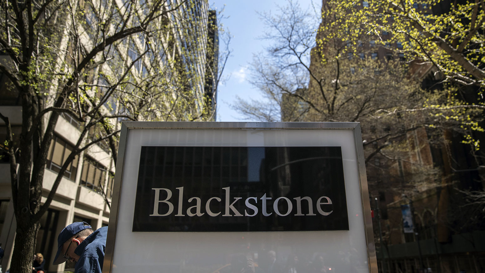 Blackstone assets up for quarter, year