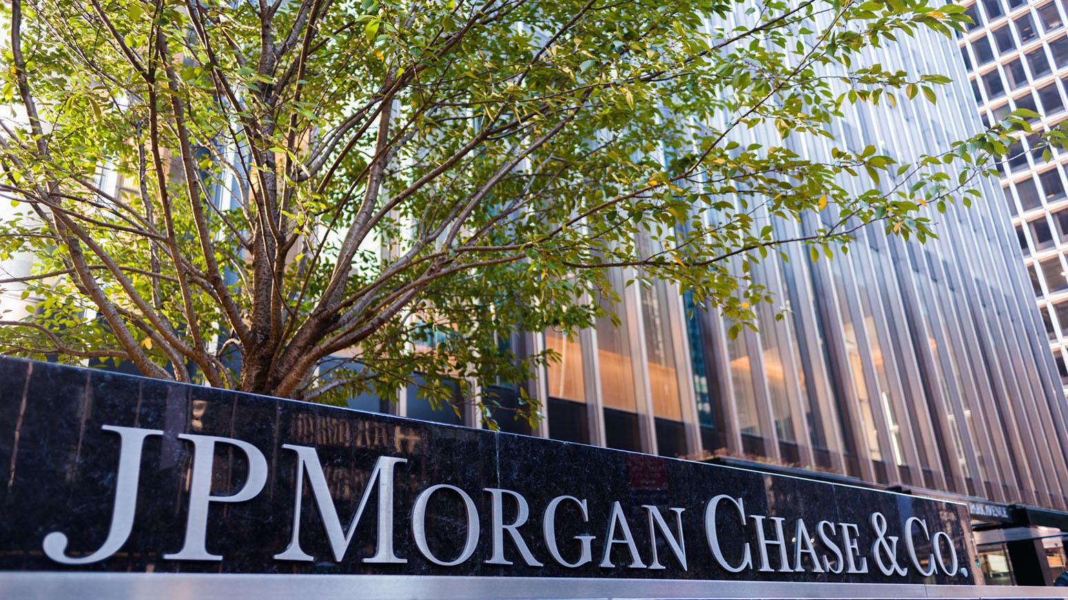 J P  Morgan AUM up 5% in quarter