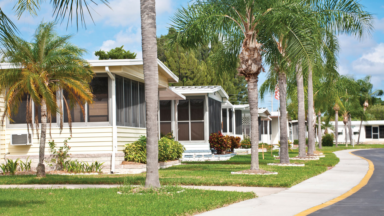 More managers make move to mobile homes