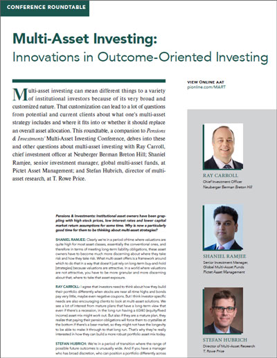 Multi-Asset Investing roundtable