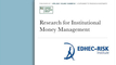 EDHEC Research For Institutional Money Management - April 2020
