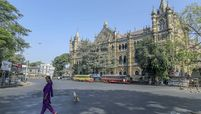 The Chhatrapati Shivaji Maharaj Terminus in Mumbai