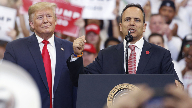 Kentucky governor who sought to revamp pension funds loses re-election