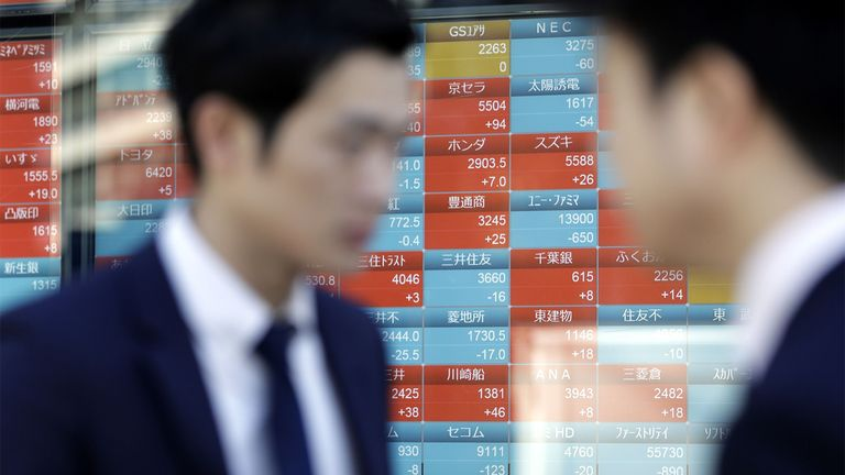 Stocks tumble most in 12 weeks on economy, virus