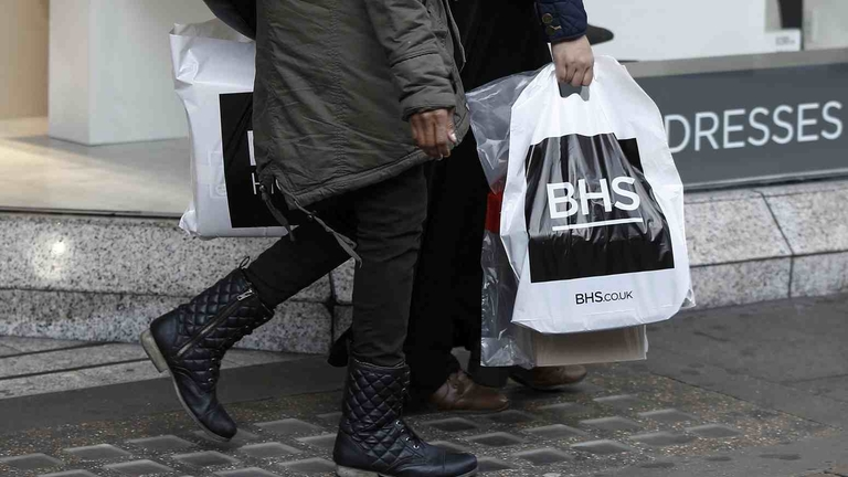 BHS owner fined £9.5 million for not funding pension plans