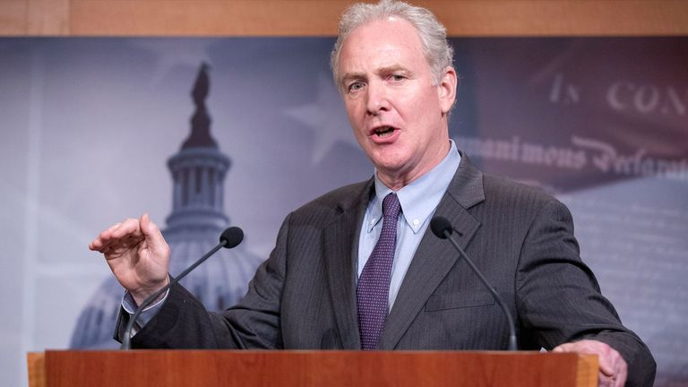 Maryland Senator Chris Van Hollen