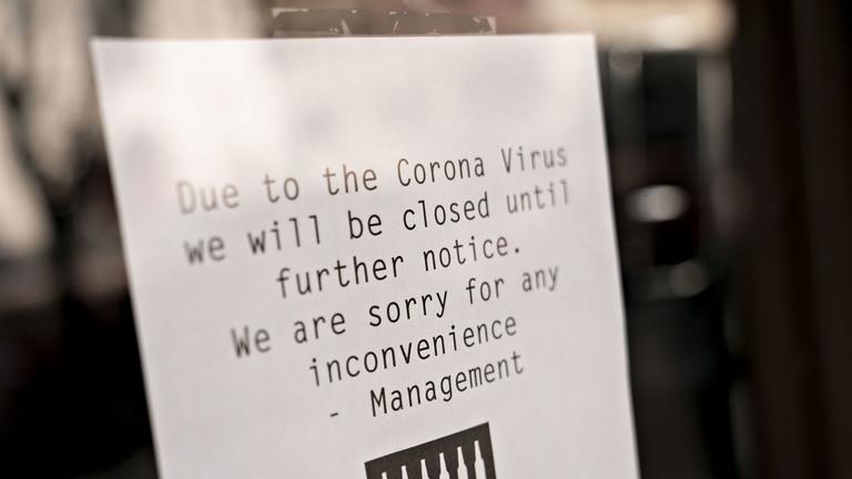Investor confidence falls amid coronavirus panic