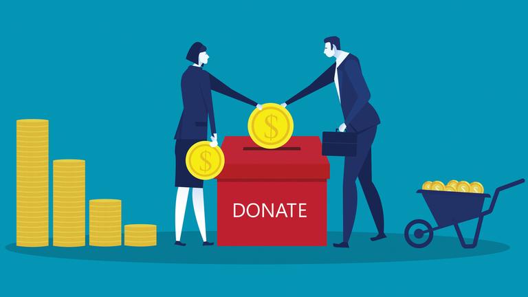 Charity illustration