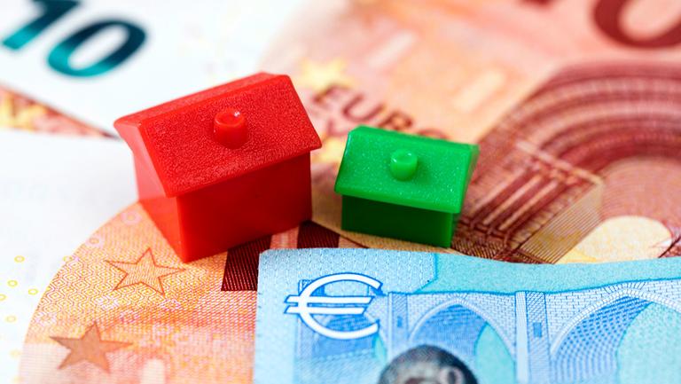 European housing stock photo