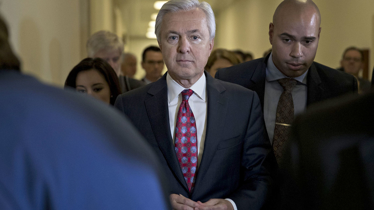 Ex-Wells Fargo bosses face record fines as Stumpf gets ban
