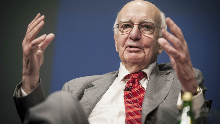 Paul Volcker, former Federal Reserve chairman, dies at 92
