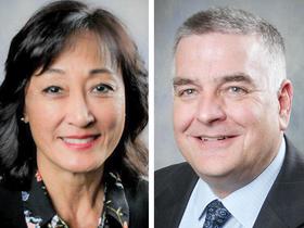 Lynne Ward and Richard Ellis