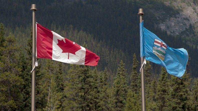 Flags of Alberta, Canada