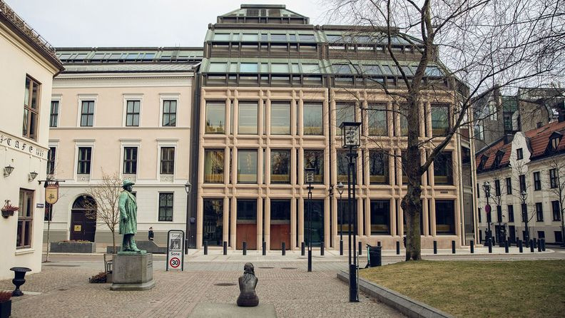 The Norges Bank, Norway's central bank, in Oslo