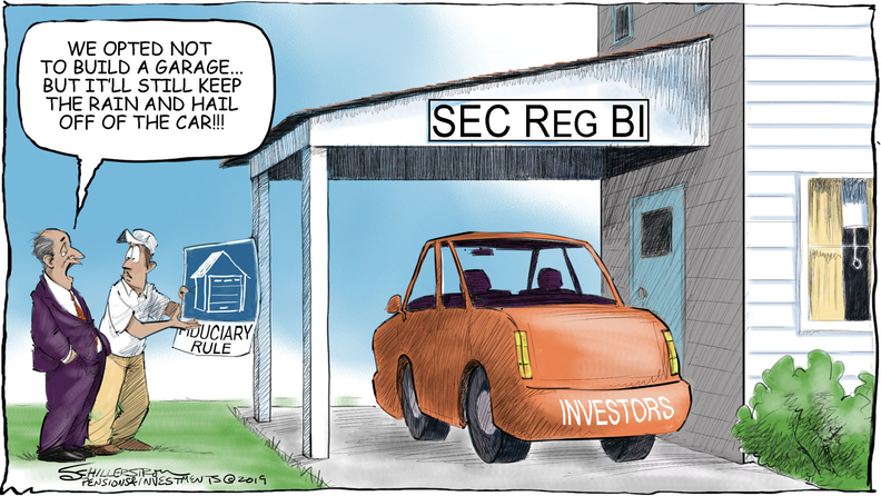 Reg BI cartoon